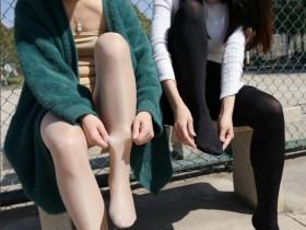 妹子穿单皮鞋都不穿丝袜吗?穿船袜的话如果露一点点