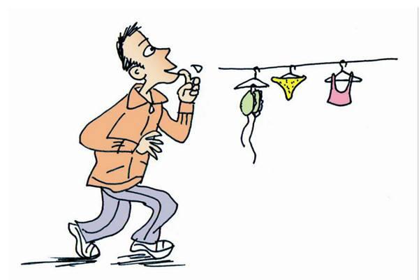 偷内裤男子被公诉 称看到女士内裤我就想偷
