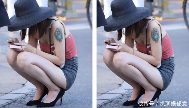 街拍第一站:这样的美女,需要单反镜头再拉近一点